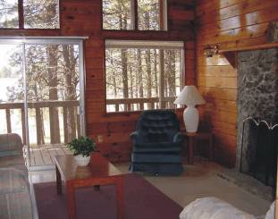 Inside of one Cabin